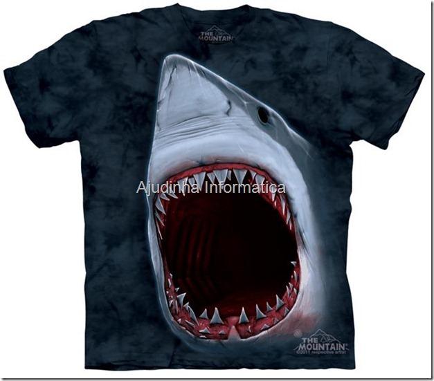 camiseta tubarao