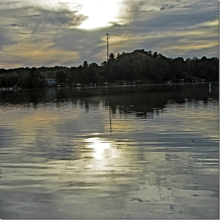 A - lake twilight