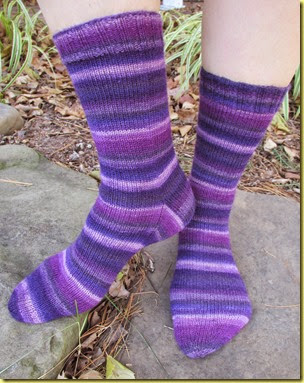 purple socks crop