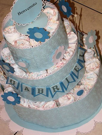 diaper cake gabiele luglio 2011 (2)