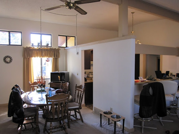 Kitchen and Dining Rm before