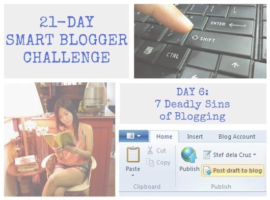 Smart Blogger Challenge day 6