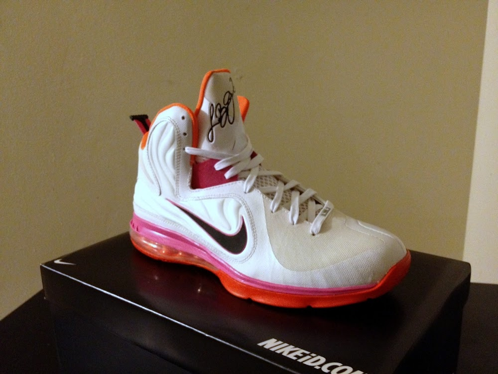"Nike LeBron 9 HWC ""Floridians"" Player Exclusive or Custom ..."