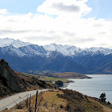 Snow Capped Mountains - Enroute to Queenstown, New Zealand
