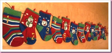 Advent Sock Calendar 2
