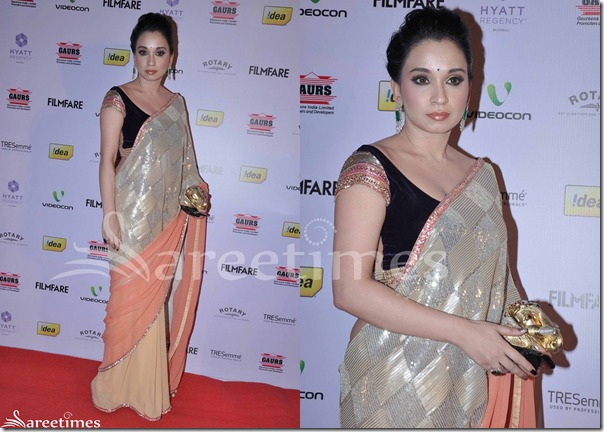 Tri_Color_Georgette_Saree