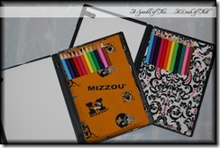 Colored pencil cases {A Sprinkle of This . . . . A Dash of That}