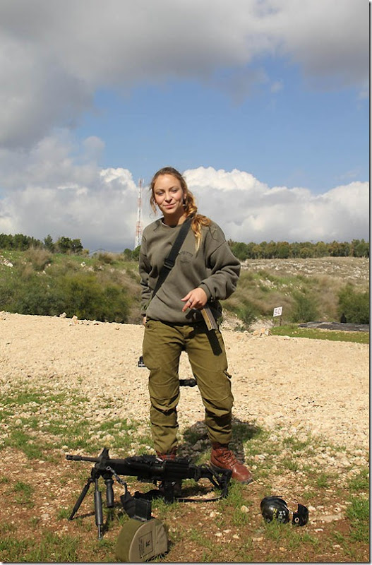 """""""Weapons Instructor"""", 2012. It's a well known fact that the IDF trains some of the best soldiers in the world, but at the source of every good soldier lies an exceptional instructor – and that's where Cpl. Daniella Stepanoe steps in. She travels from base to base training everyone from paratroopers to elite special forces units in the use of their weapons."""