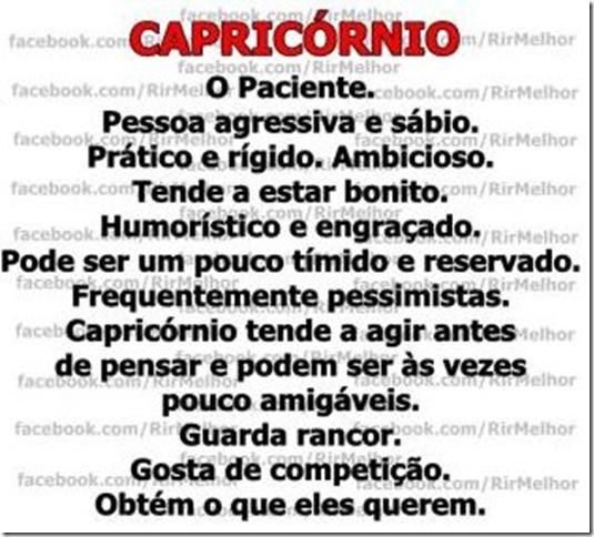 Capricórnio.