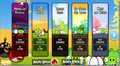 Download Angry Birds Seasons 1.5.1 PC Game