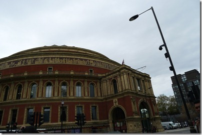Royal Albert Hall from the side