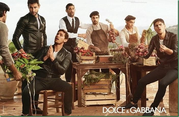 Sneak Peak: Dolce & Gabbana Men's S/S 2014 Campaign