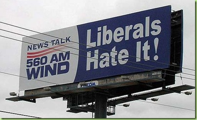 talk radio libs hate