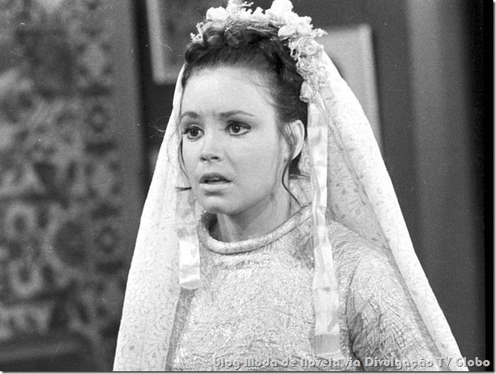 moda da novela veu de noiva - vestido de noiva da regina