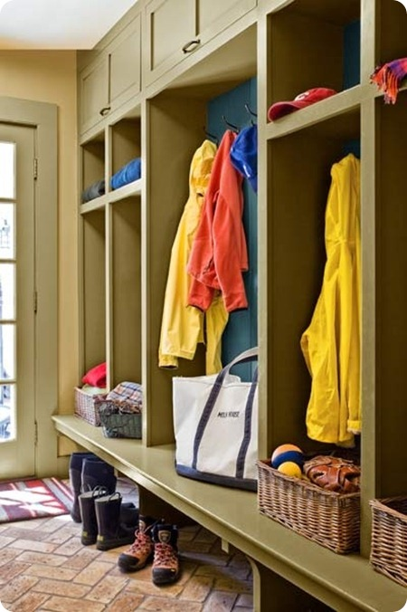 mud room built ins to ceiling