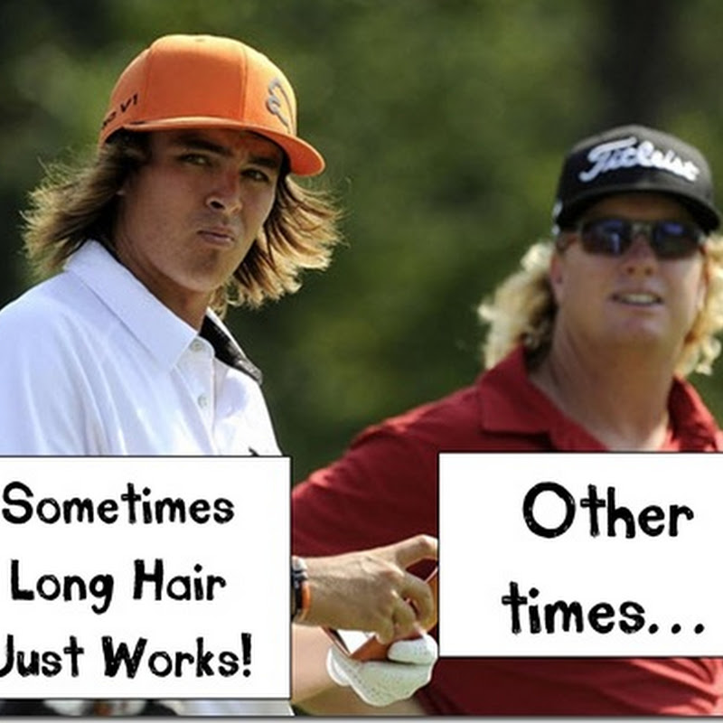 Long Hair On A Golf Course? It can work, But not always