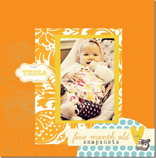 Tessa 5 month snapshots copy