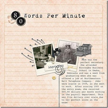80 Words per Minute