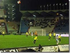 Lance del partido Celta - Espanyol en Balaídos