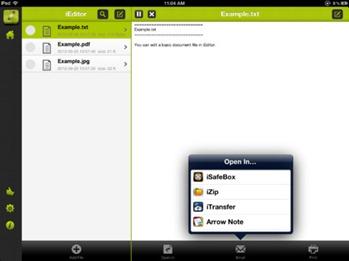 Free iPad Text Editor