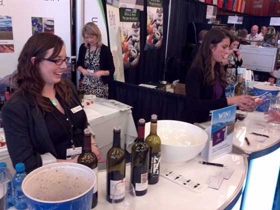 Wines of BC Tasting Station