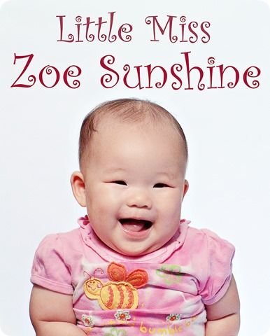 Zoe- Little Miss Sunshine