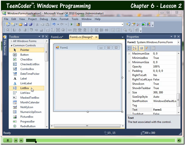 programming video screenshot