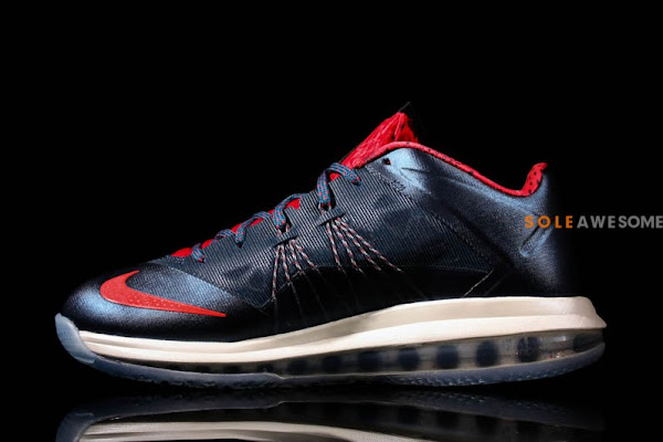 Nike Air Max LeBron X Low in Classic USAB Colors 579765400