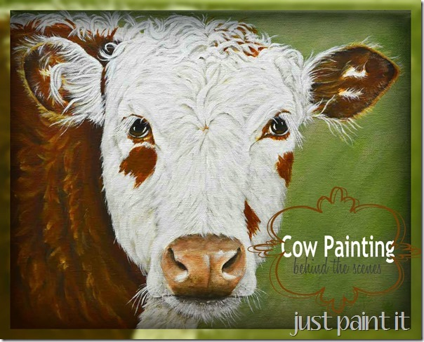 A Cow Painting
