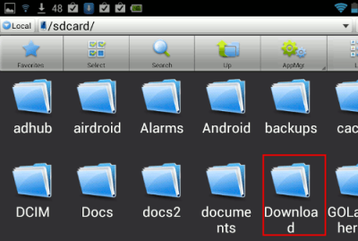 downloadFolder