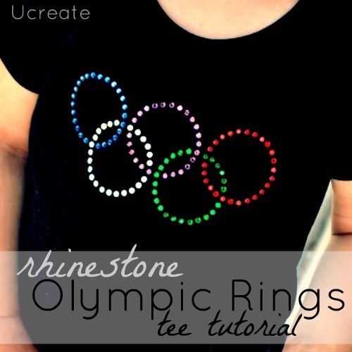 Olympic Rhinestone Shirt