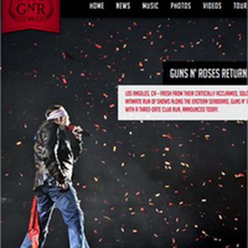 30 diseños de sitios web dedicados a la música