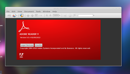 Adobe Reader 9.5.4 su Linux