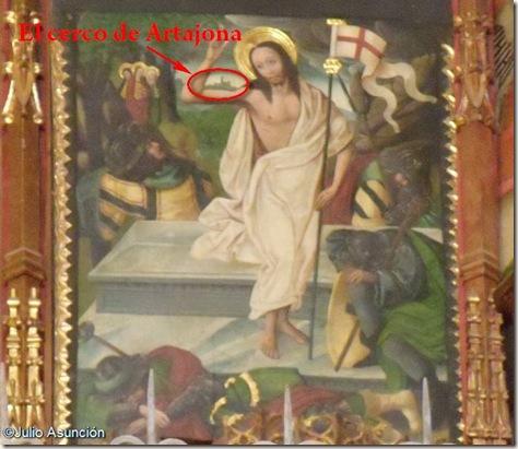 Resurrección del Señor - Artajona - Iglesia de San Saturnino - Navarra