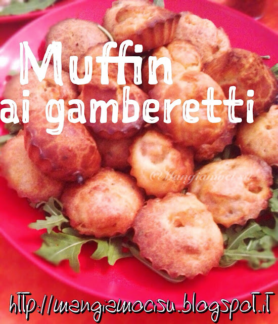 muffin ai gamberetti
