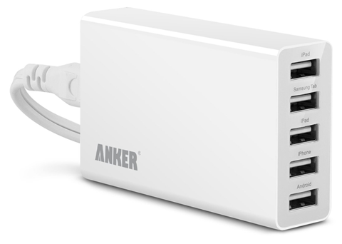 Buy Anker 25W 5A USB Desktop Charger