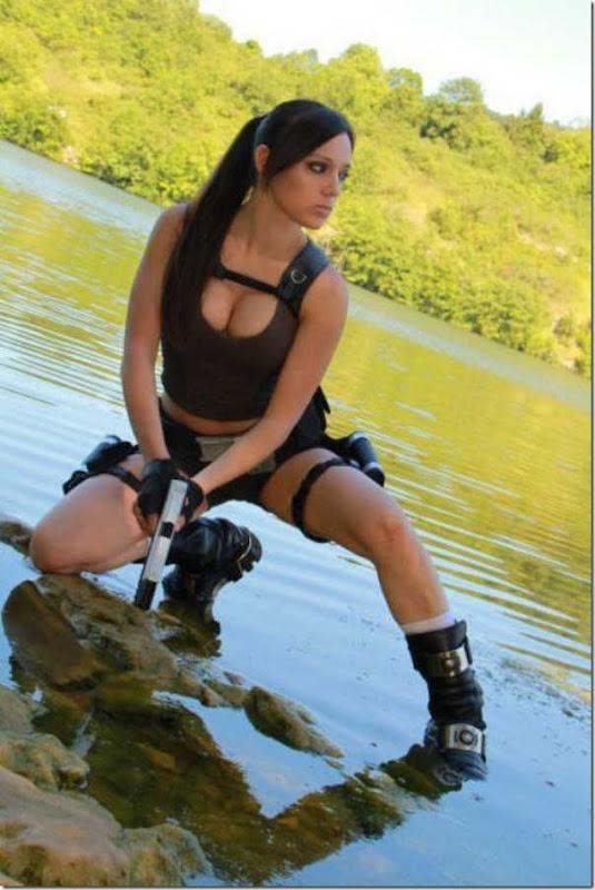 Os melhores cosplays de Lara Croft 28