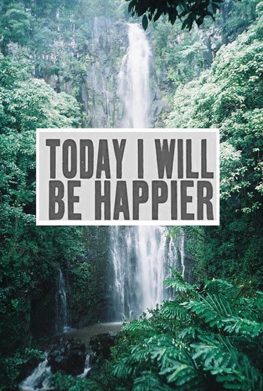 I Will Be Happier