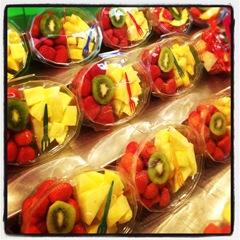 fresh fruit at la Boqueria