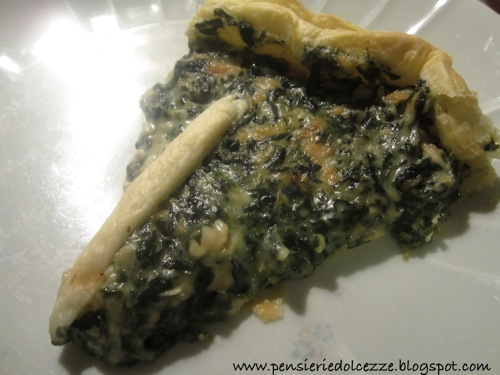 Quiche Salmone e Spinaci 4