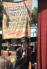Theatrer Bizarre at Maker Faire Detroit 2011