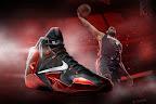 nike lebron 11 gr black red 0 01 New Photos // Nike LeBron XI Miami Heat (616175 001)