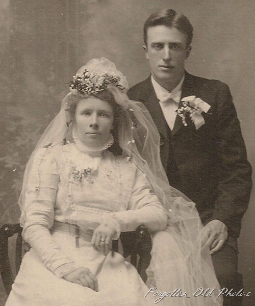 Wedding Photo Litchville ND  DL Antiques