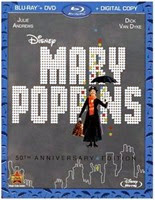 CLICK to purchase the 50th Anniversary Edition of MARY POPPINS from Amazon.