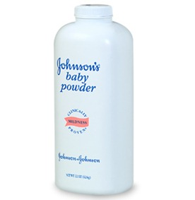 baby powder