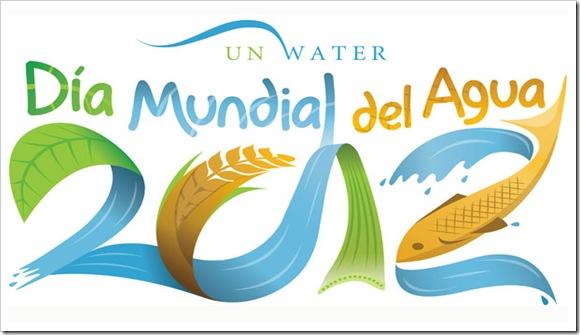 Logo dia mundial del agua