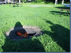 6558 Sleepy Cedars Campground Greely Ottawa - campfire