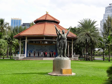 Pavilion in Parcul Lumpini