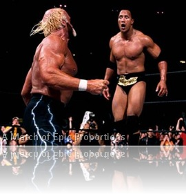 WrestleMania X8 Rock vs Hogan