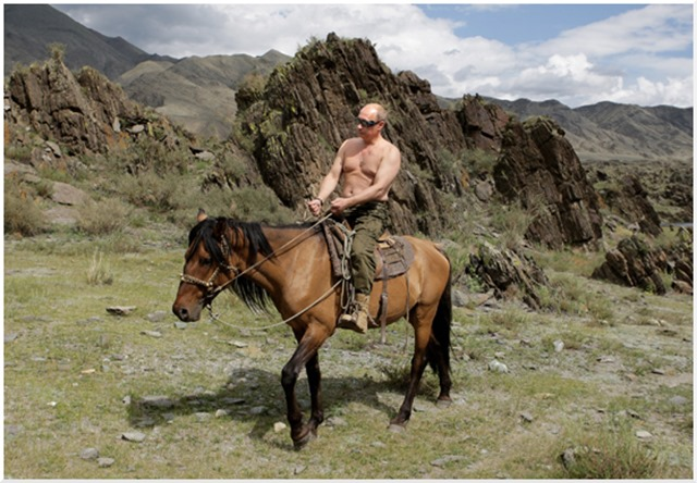 Putin on the range.